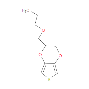 2,3-Dihydro-2- (propoxymethyl) thieno [3,4-b] -1,4-dioxin
